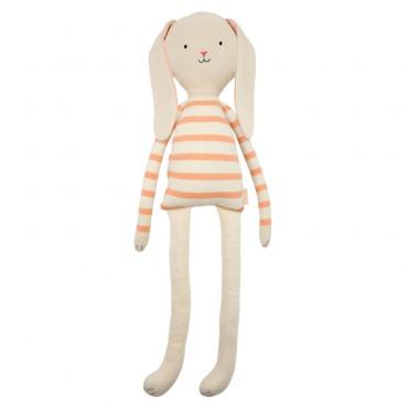 Grand lapin tricoté