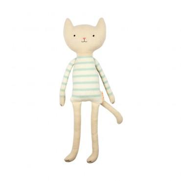 Petit chat tricoté