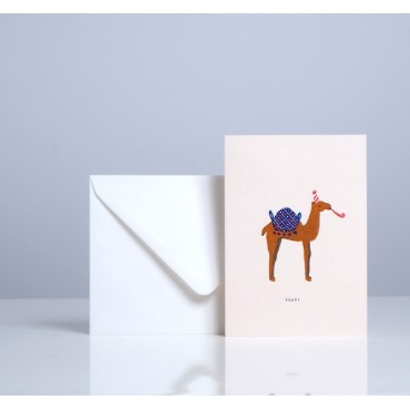 Carte double Dromadaire - Youpi