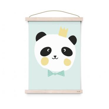 Affiche Lovely Animals - King Panda