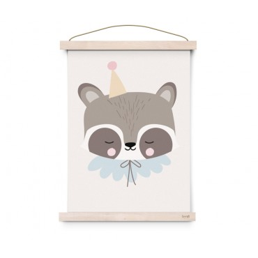 Affiche Circus - Raccoon