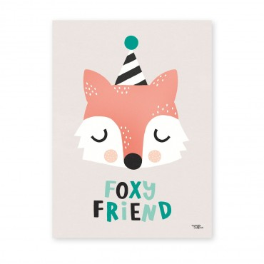 Affiche - Foxy Friend