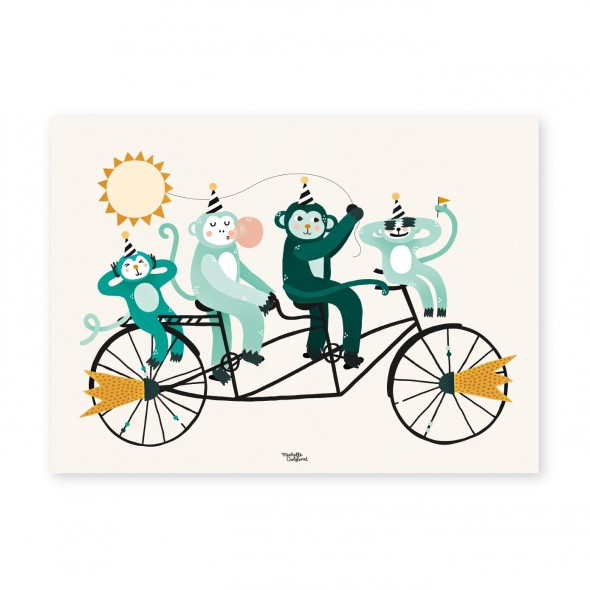 Affiche - Monkey Business