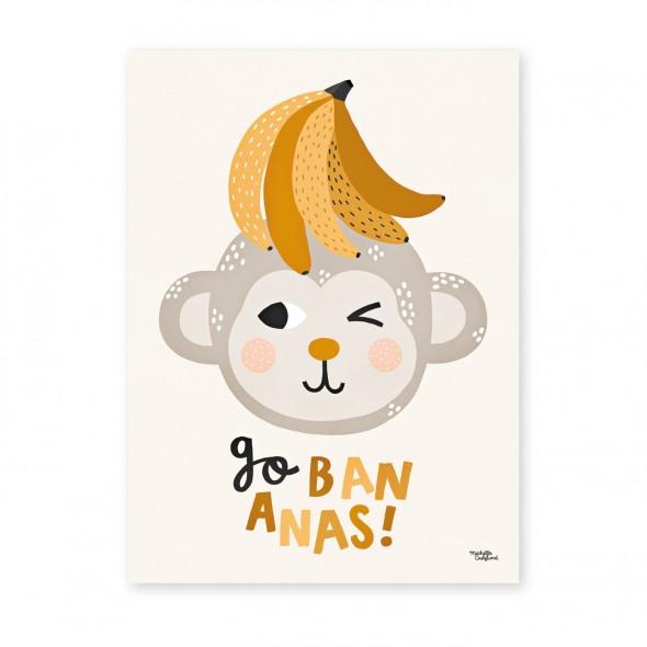 Affiche - Go Bananas