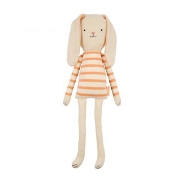 Petit lapin tricoté