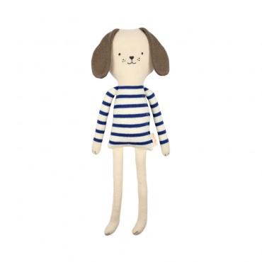 Petit chien tricoté