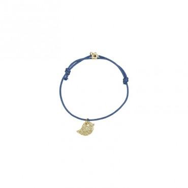 Bracelet Animal - Oiseau (bleu)