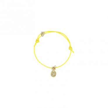 Bracelet Yummy - Ananas (jaune)