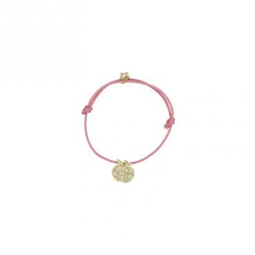Bracelet Yummy - Pomme (rouge)