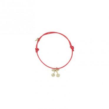 Bracelet Yummy - Cerise (rouge)