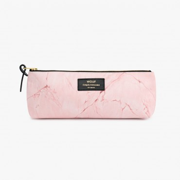 Trousse à crayons - Pink Marble