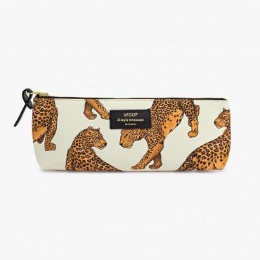 Trousse à crayons - Leopard