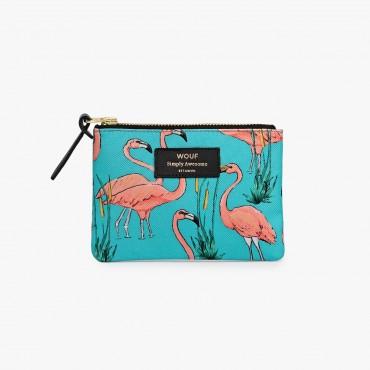 Petite pochette - Pink Flamingos