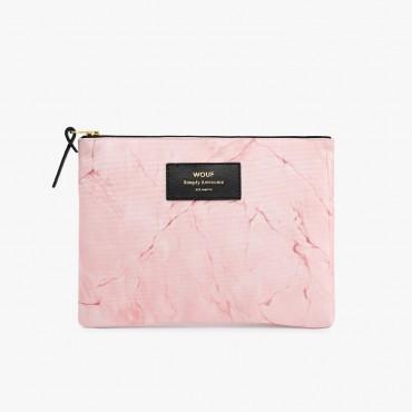 Grande pochette - Pink Marble