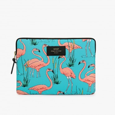 Housse d'Ipad - Pink Flamingos