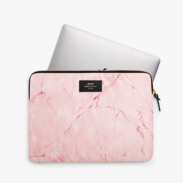 """Housse d'ordinateur 13"""" - Pink Marble"""