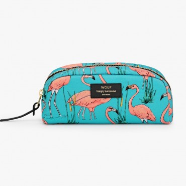Trousse de toilette - Pink Flamingos (PM)