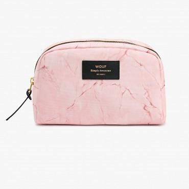 Trousse de toilette - Pink marble (GM)