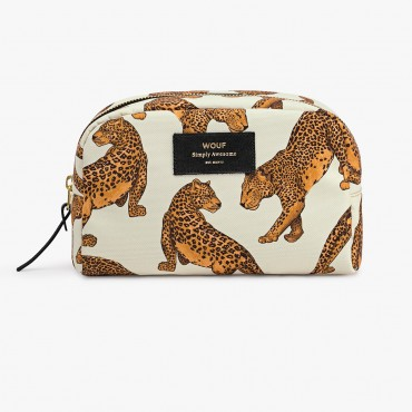 Trousse de toilette - Leopard (GM)