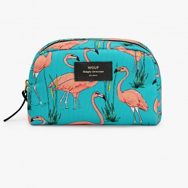 Trousse de toilette -  Pink Flamingos (GM)