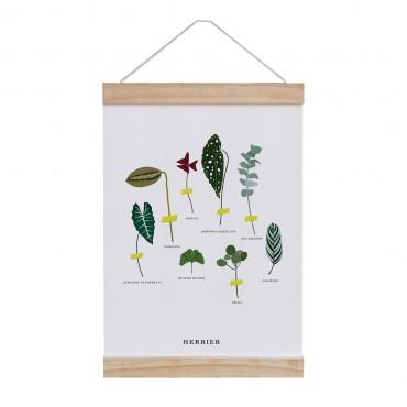 Affiche à suspendre - Herbier