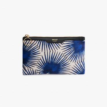 Petite pochette - Blue Palms