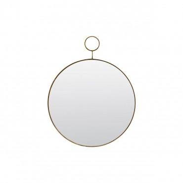 Miroir Loop - Laiton (Petit Modèle)