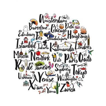 Affiche ABC - Voyage
