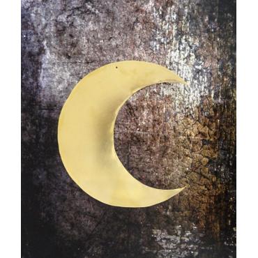 Grande lune - Doré
