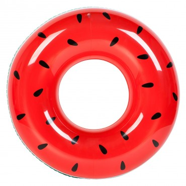 Bouée ronde gonflable - Pastèque
