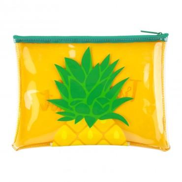 Pochette zippée - Ananas