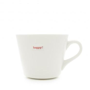 Mug - Happy ! (red)