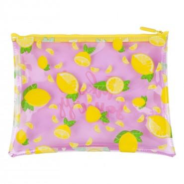 Pochette zippée - Lemon