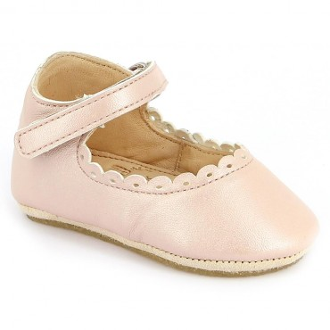 Chaussons Charlie  - Rose baba