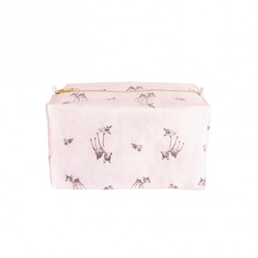 Trousse de toilette Vic - Faon / Rose
