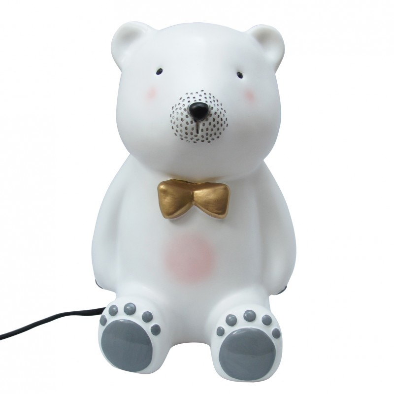 variété de dessins et de couleurs photos officielles prix attractif Lampe à poser - Ours Teddy avec nœud papillon - HOUSE OF ...