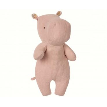 Doudou Little Hippo - Dusty rose