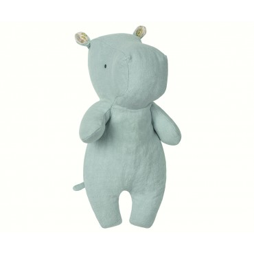 Doudou Little Hippo - Aqua