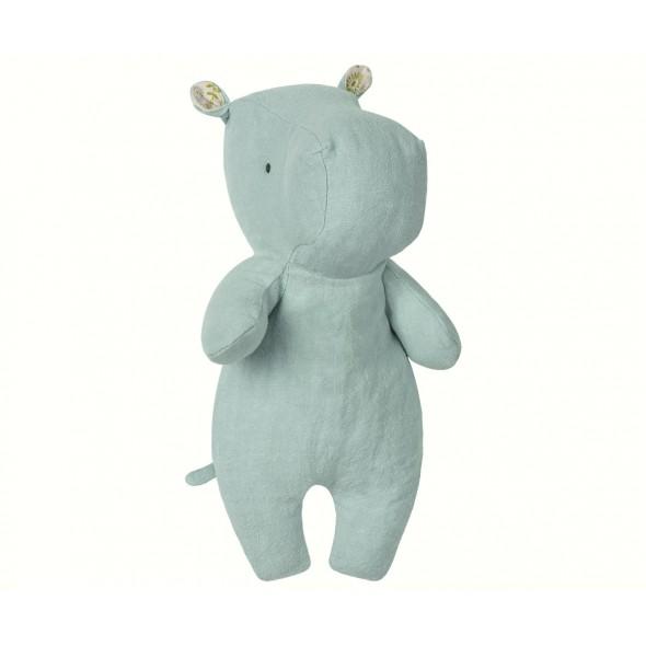 Doudou Little Hippo - Aqua