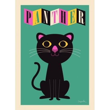 Poster Panthère par Ingela P. Arrhenius