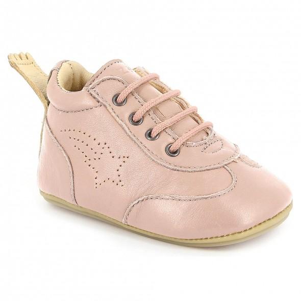 Chaussures pré-marche Izi - Rose baba