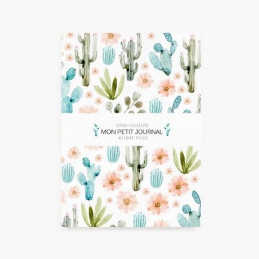 Carnet de notes A6 - Cactus