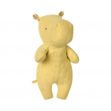 Doudou Little Hippo - Yellow