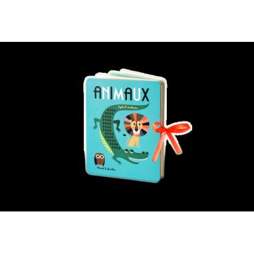 Mini livre accordéon Animaux par Ingela P. Arrhenius