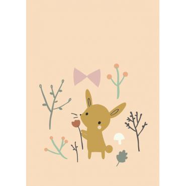 Carte postale - Bunny