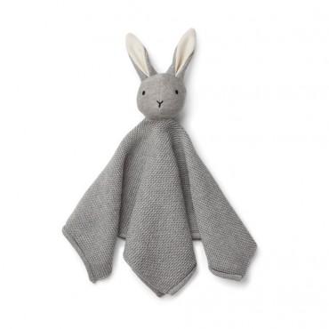 Doudou tricoté Milo - Rabbit / Grey