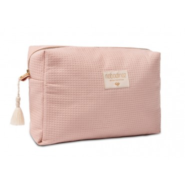 Trousse de toilette imperméable Diva - Misty pink