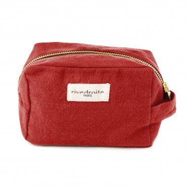 Trousse make-up Tournelles - Apple red