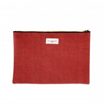 Pochette Barbette - Apple red