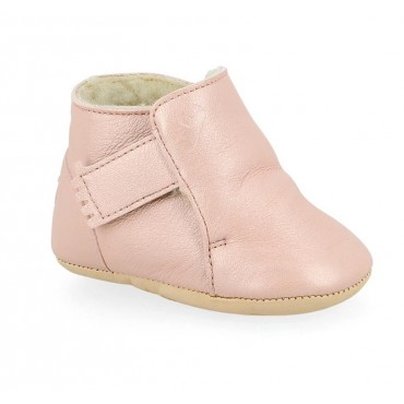 Chaussons Cosymoo - Rose baba